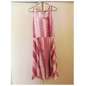 NWT Lularoe Nikki Dress XL - Pink Design